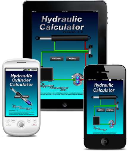 Hydraulic Calculator iOs and Android Application